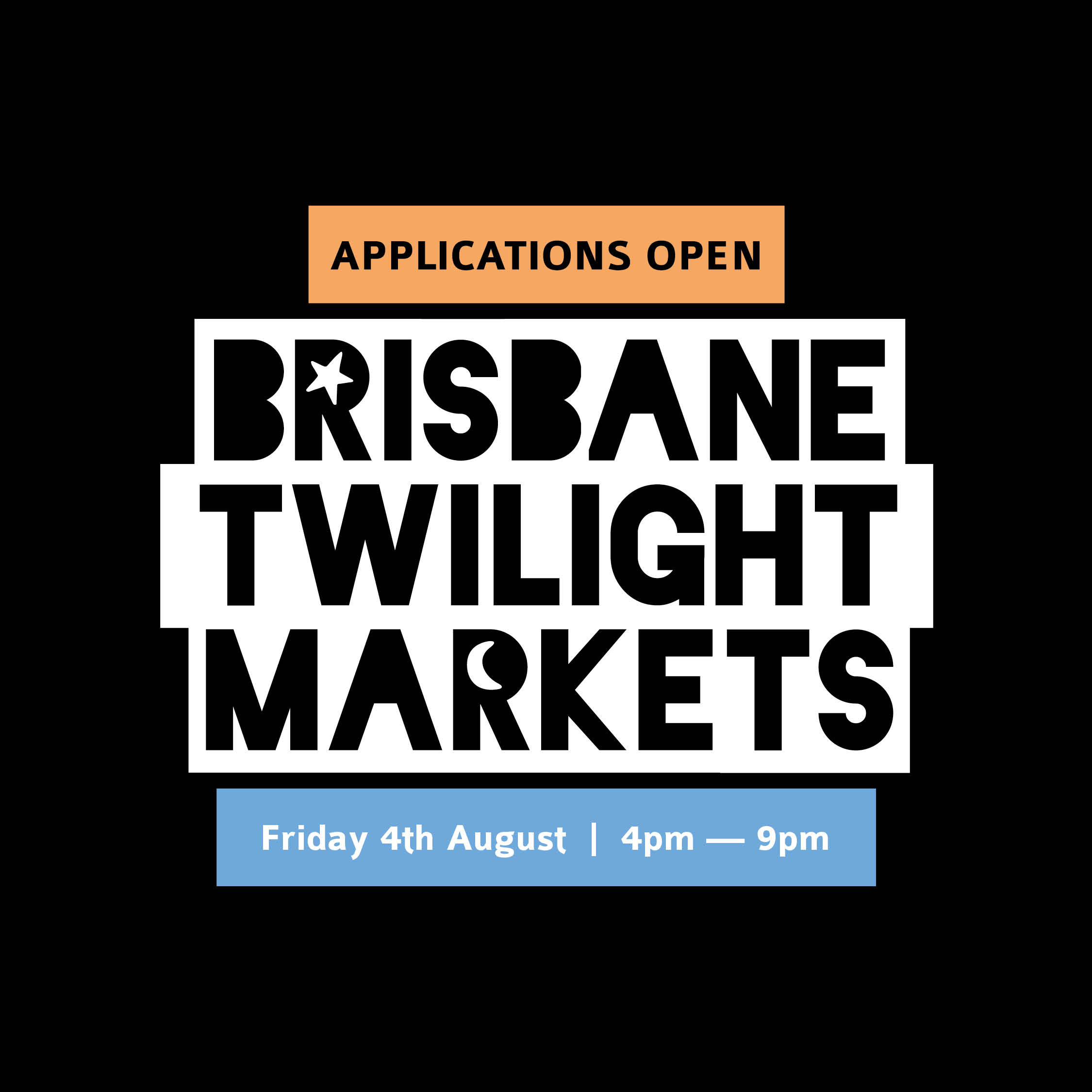BrisStyle Twilight Market Instagram Graphics APPLICATIONS OPEN AUG