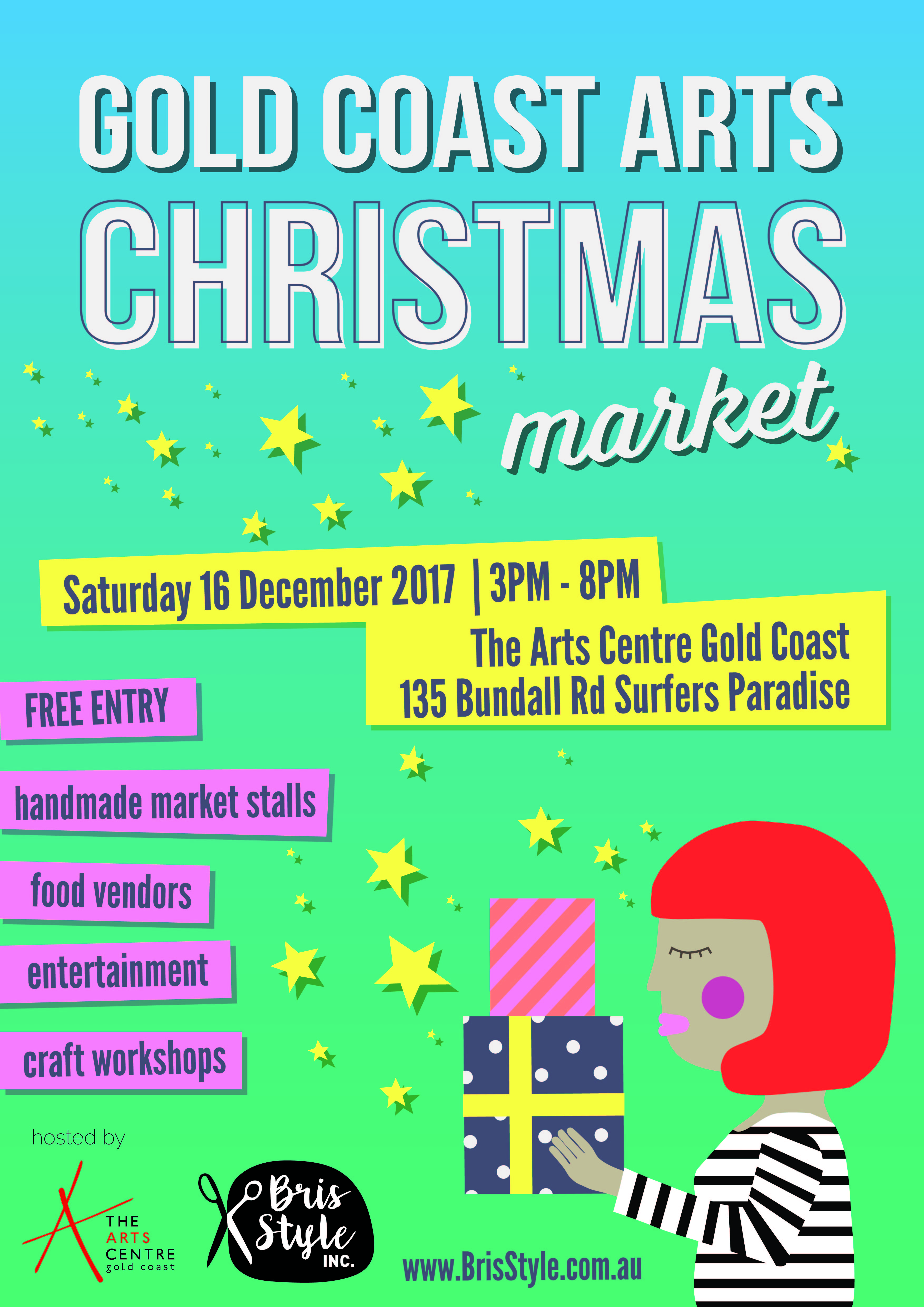 GC Arts Christmas Market Dec 16 Poster DRAFT 5 01